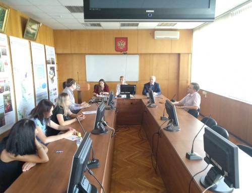 Заседание Совета молодых ученых ВНИИГиМ