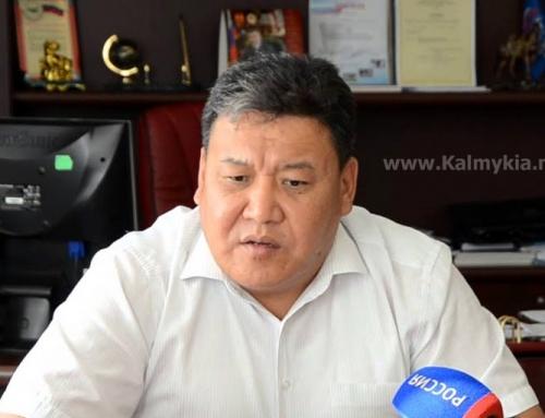 Назначение Адьяева Санала Борисовича на должность Министра сельского хозяйства Республики Калмыкия