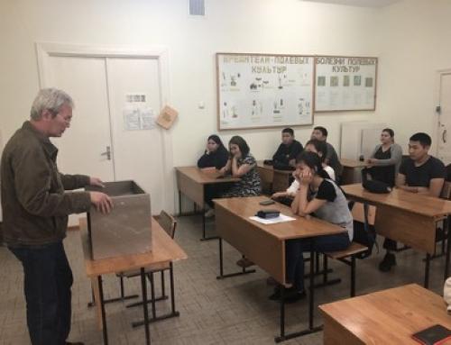 На аграрном факультете Калмыцкого государственного университета с публичной лекцией выступил профессор РАН Н.З. Шамсутдинов