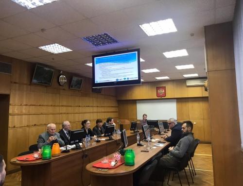 Встреча с представителями польского Водного центра