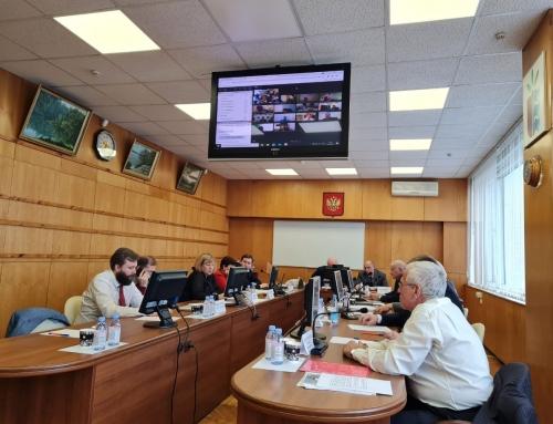 Выездное заседание секции мелиорации Научно-технического совета Минсельхоза России